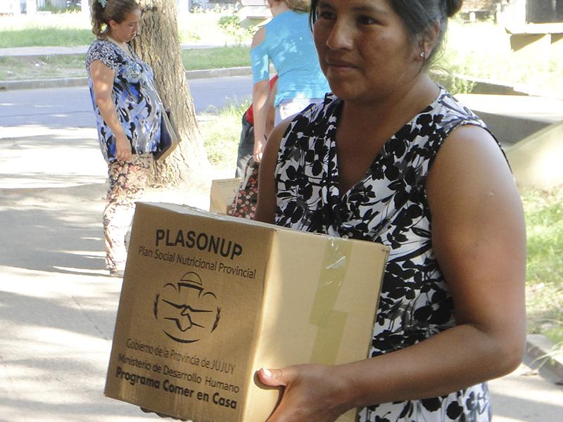 Lunes 20 y martes 21 de febrero se  entregarán unidades alimentarias en Pampa Blanca