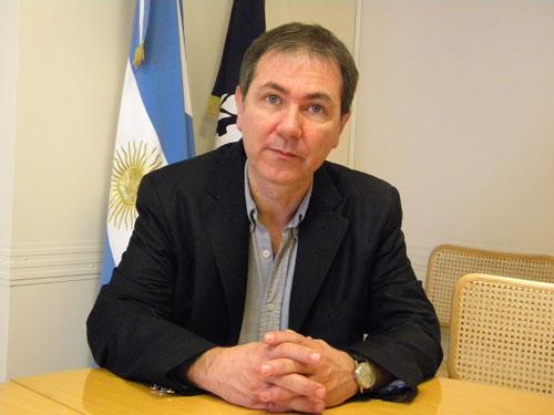 Gustavo Ponce, de la OIT